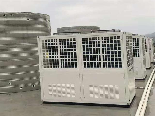 空气能热泵迅速占领酒店热水工程